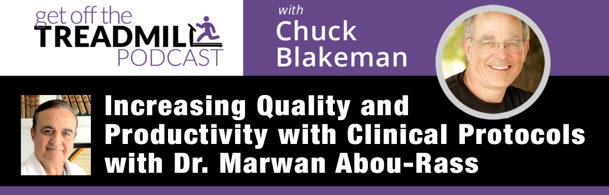 Chuck Blakeman Podcast with Dr. Abou-Rass